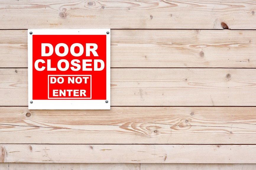 Shut the Door – Something Jesus said Helped Me Be More Productive Today